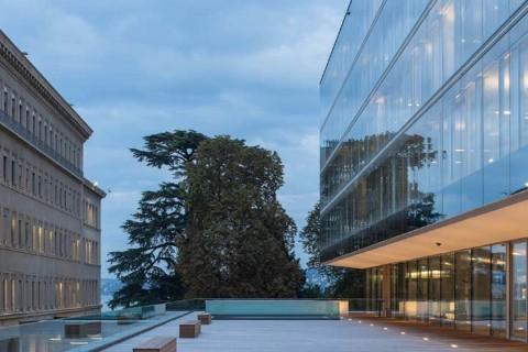 BATIMENT DE CONTROLE ET D'IDENTIFICATION, BCI-OMC – GENEVE