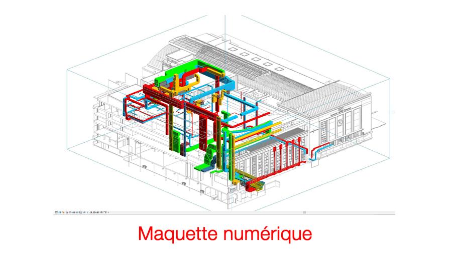 Maquette numérique Revit - BIM